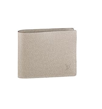 Louis Vuitton Taiga Leather Compact Wallet M32643
