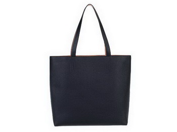 Hermes Shopping Bag 36CM Totes Clemence Leather Black
