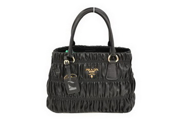 Prada Gaufre Nappa Leather 30cm Tote Bag BN2394 Black