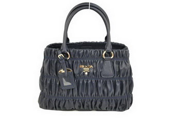 Prada Gaufre Nappa Leather 30cm Tote Bag BN2394 RoyalBlue