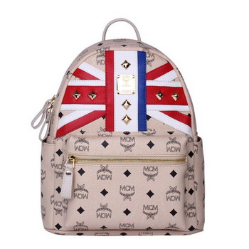 MCM Small Flag of UK Backpack MC5173S Beige