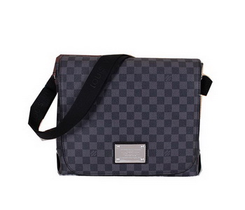 Louis Vuitton Damier Graphite Canvas Brooklyn MM N51211