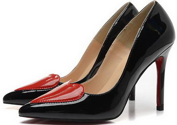 Christian Louboutin 100mm Pump Patent Leather CL1496 Black