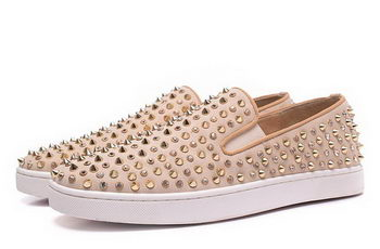 Christian Louboutin Casual Shoes CL918 Apricot