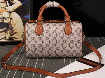 Gucci GG Supreme Top Handle Bag 409529 Wheat