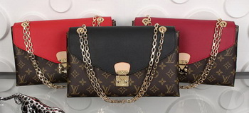 Louis Vuitton Monogram Canvas Pallas Chain Aurore Bags M41200
