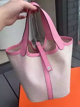 Hermes Picotin Lock 18cm Bag Canvas HPL8618T Sakura