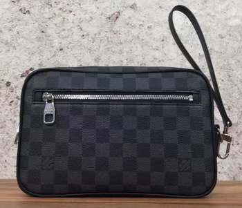 Louis Vuitton Damier Graphite Canvas KASAI CLUTCH N41664