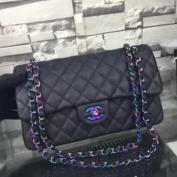 Chanel 2.55 Series Flap Bags Original Leather A5024 Black