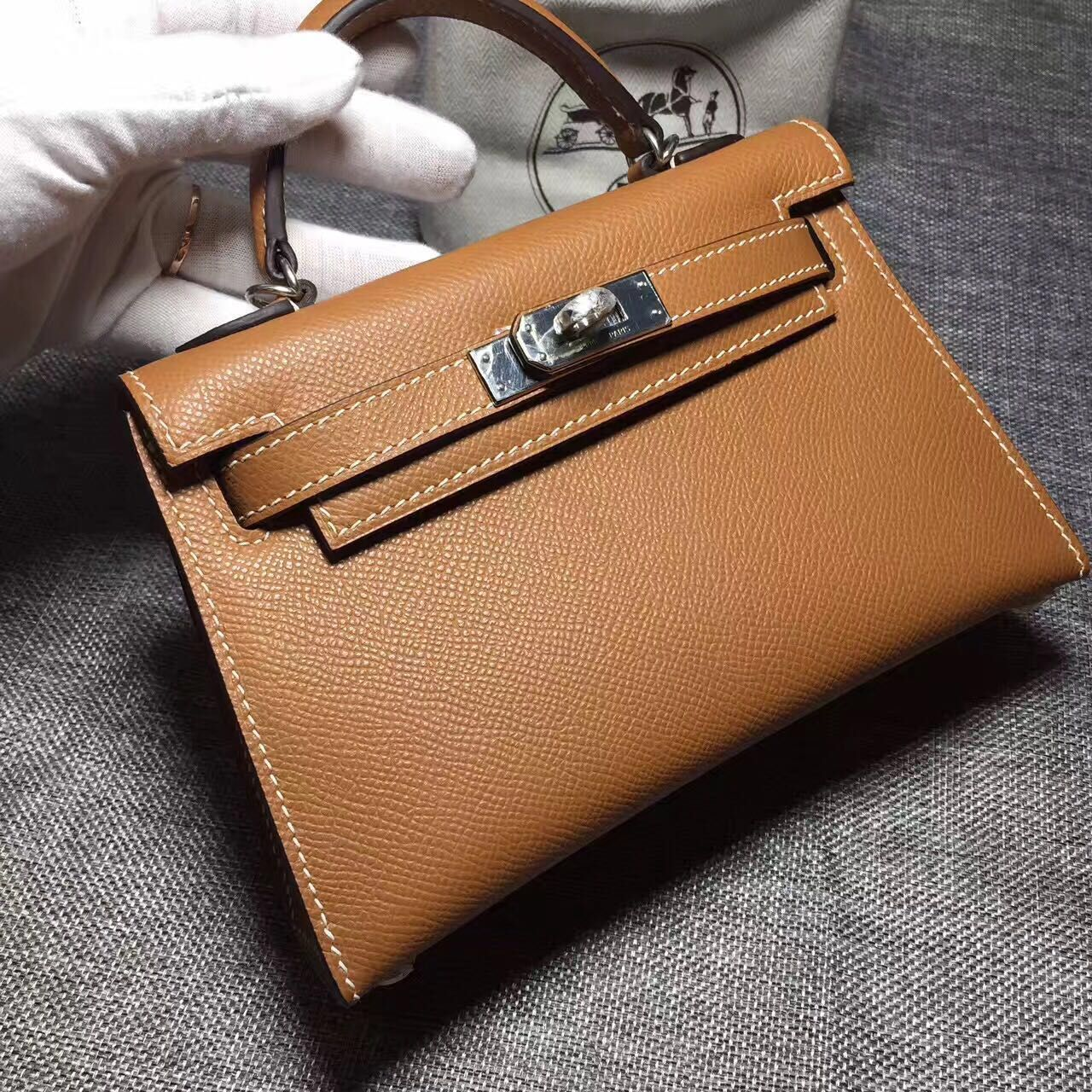 Hermes Kelly Tote Bag Original Leather 17088