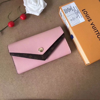 Louis Vuitton CRUISE 2017 DOUBLE V WALLET M64317 Pink