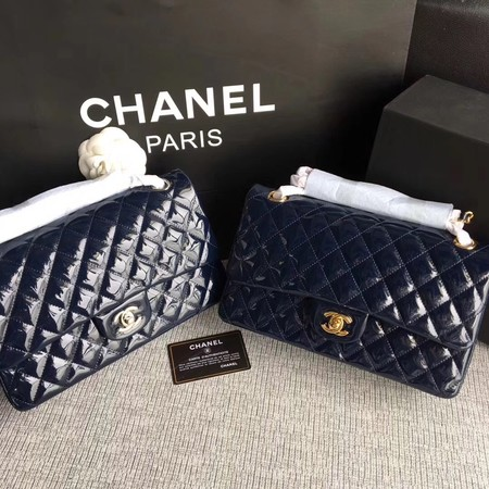 Chanel 2.55 Series Flap Bags Original Leather A1112 Royal