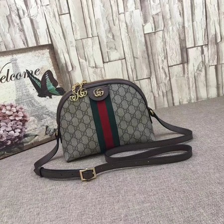 Gucci Ophidia Small Shoulder Bag 499621 Brown