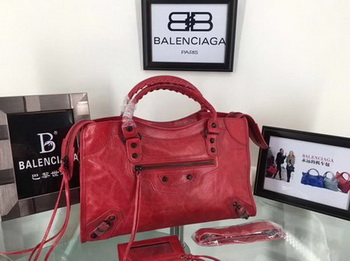 Balenciaga Classic City Bags B084332 Red