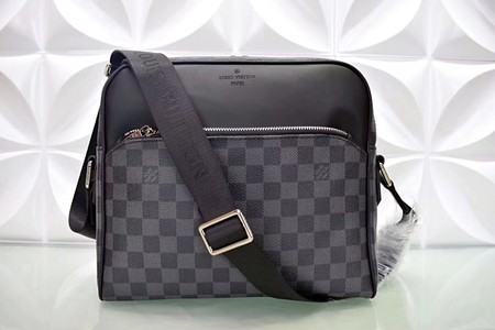 Louis Vuitton Damier Graphite Canvas Shoulder Bag N41409