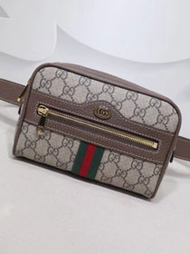 Gucci  GG original canvas ophidia supreme small Pocket 517075 brown