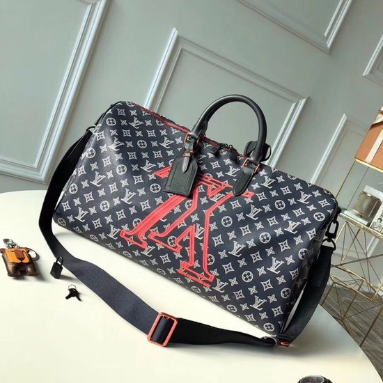 Louis Vuitton KEEPALL BANDOULIERE 50 M43684
