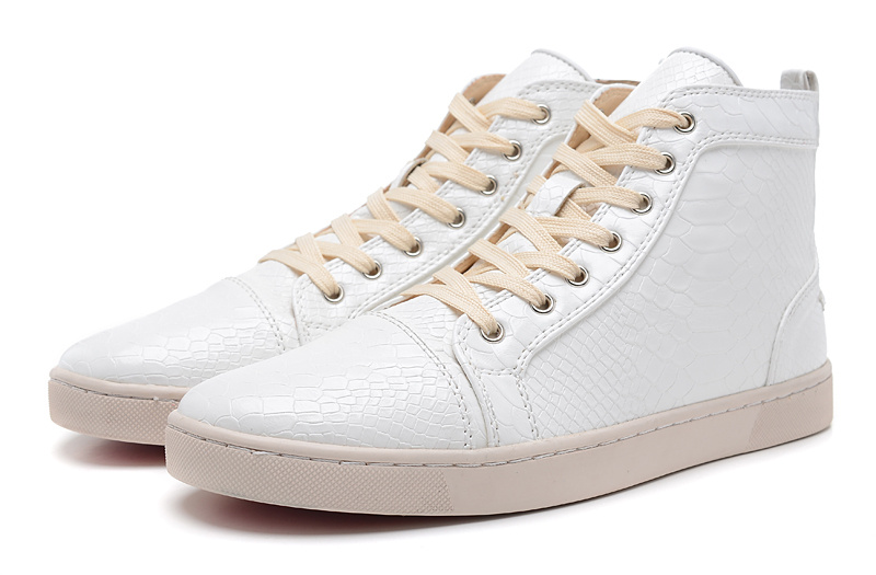 Christian Louboutin Lovers Casual Shoes CL922 white