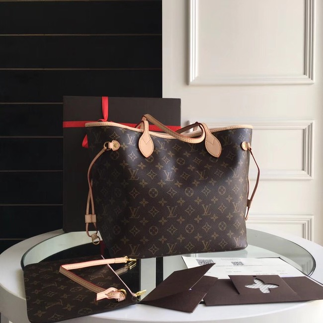 Louis Vuitton Monogram Canvas Original NEVERFULL MM M40997 yellow