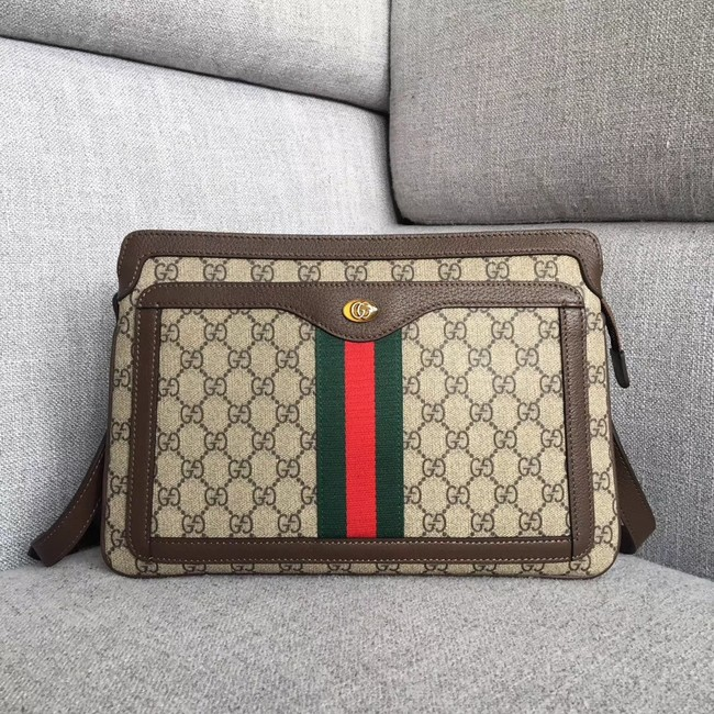 Gucci GG Supreme medium shoulder bag 523354