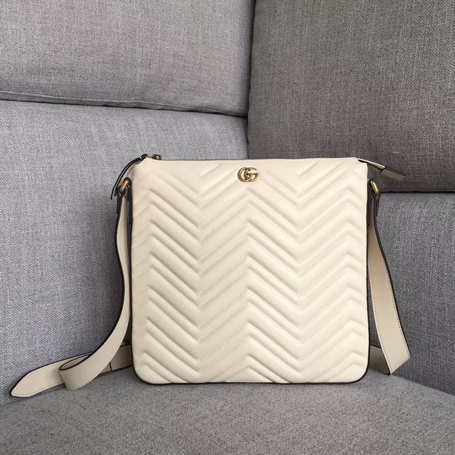 Gucci GG Marmont messenger bag 523369 white