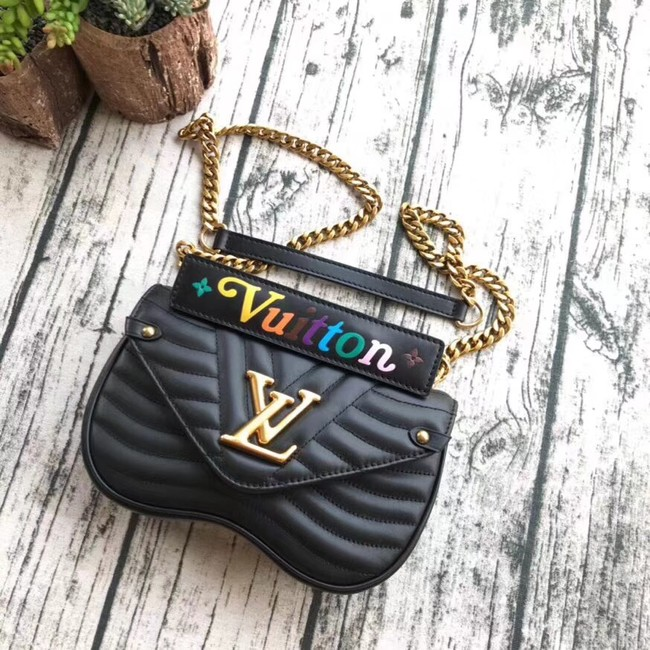LOUIS VUITTON NEW WAVE CHAIN BAG PM M51683 black