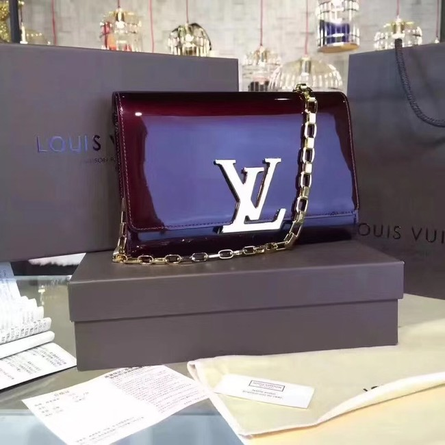 Louis Vuitton CHAIN LOUISE GM 94425 purple
