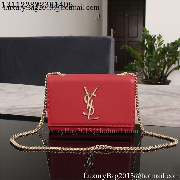 Yves Saint Laurent Monogramme Cross-body Shoulder Bag 1311228 Red