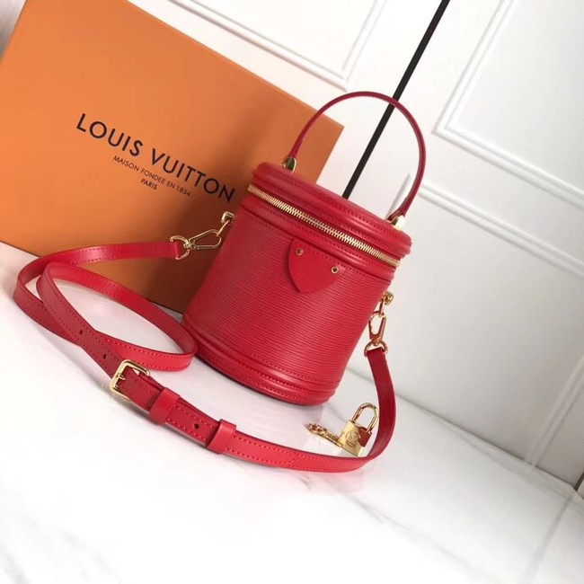 Louis Vuitton original Epi Leather CANNES M52226 red