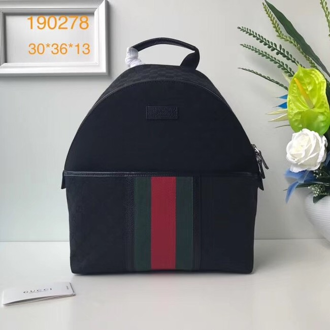 Gucci GG Supreme backpack 190278 black