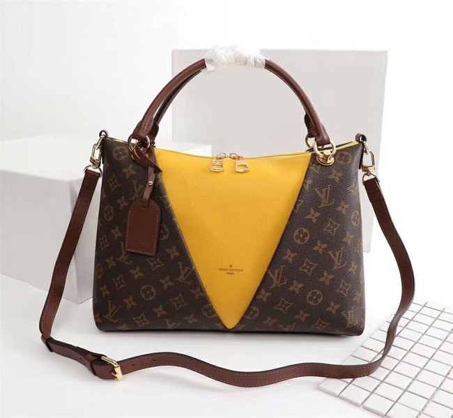 Louis Vuitton V TOTE MM M43949 yellow