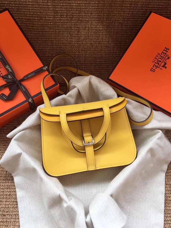 Hermes Original Halzan mini bag H069523 yellow