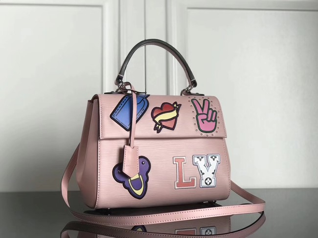 Louis Vuitton original Epi Leather CLUNY BB M52484 pink