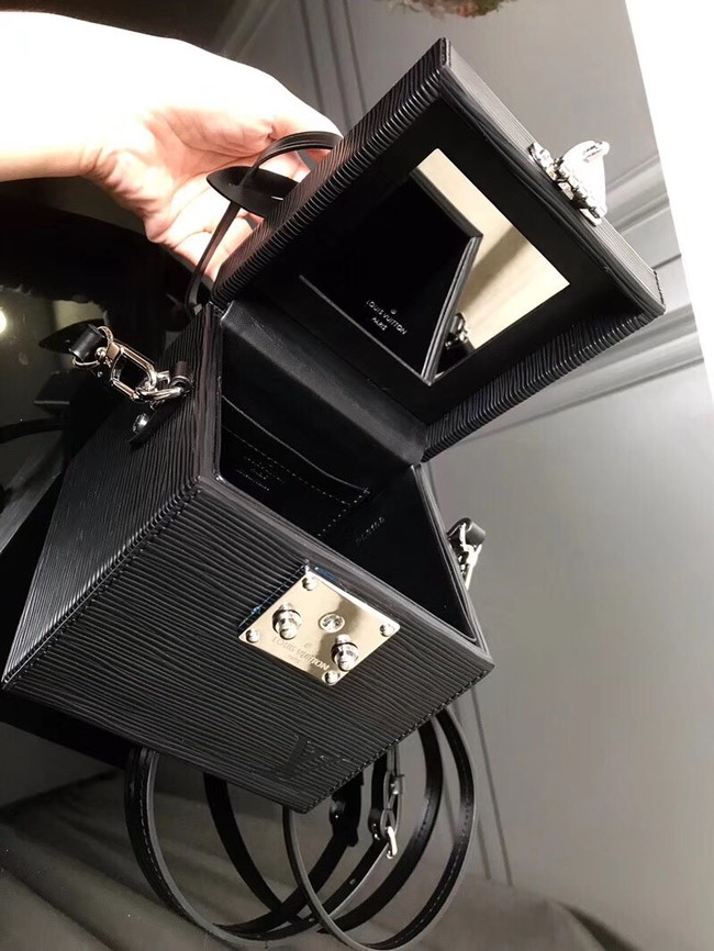 Louis Vuitton original Epi Leather BLEECKER BOX M52466 black