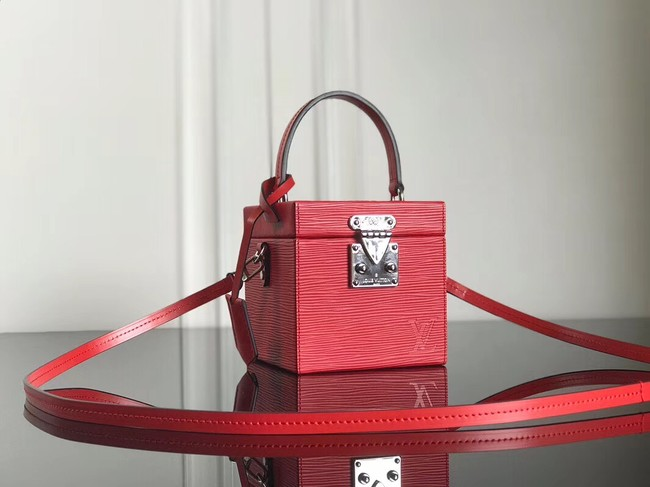 Louis Vuitton original Epi Leather BLEECKER BOX M52466 red
