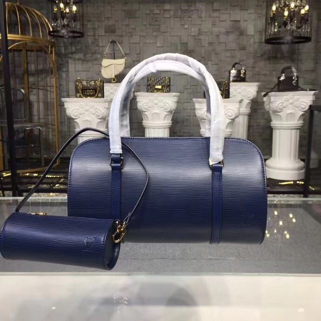Louis Vuitton original Epi Leather M52222 dark blue