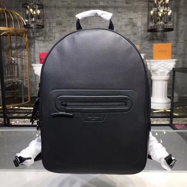 Louis vuitton original BACKPACK PM M52170 Dark Infinity Leather