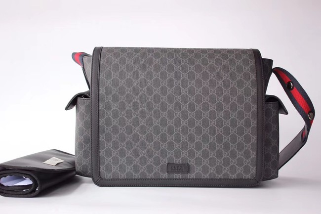 Gucci GG Supreme diaper bag 495909 black