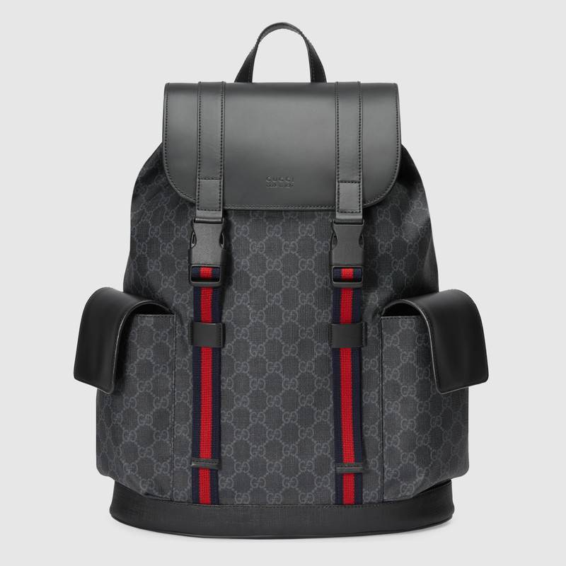 Gucci Soft GG Supreme backpack 495563 black
