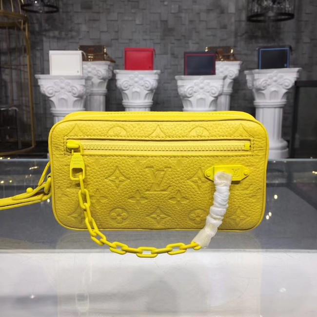 Louis vuitton original KASAI M44458 YELLOW