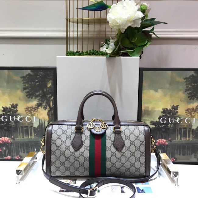 Gucci GG canvas ophidia top quality tote bag 524532 brown