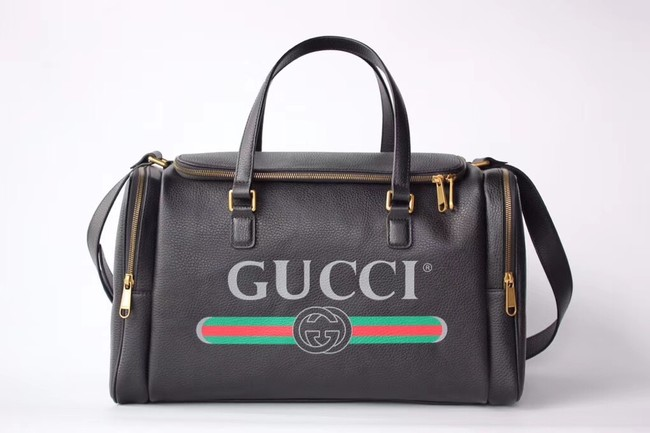 GUCCI GG Soho Leather Supreme Travelling bag 547837 black