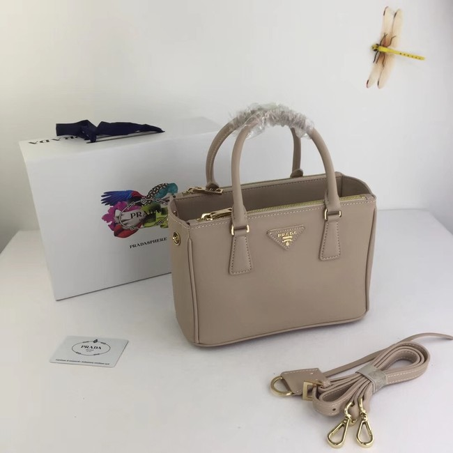 Prada Galleria Small Saffiano Leather Bag BN2316 apricot