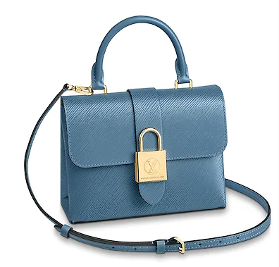 Louis Vuitton LOCKY BB M53159 Bleu Jean