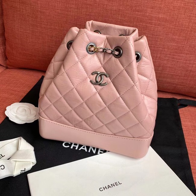 Cchanel gabrielle backpack A94501 light pink