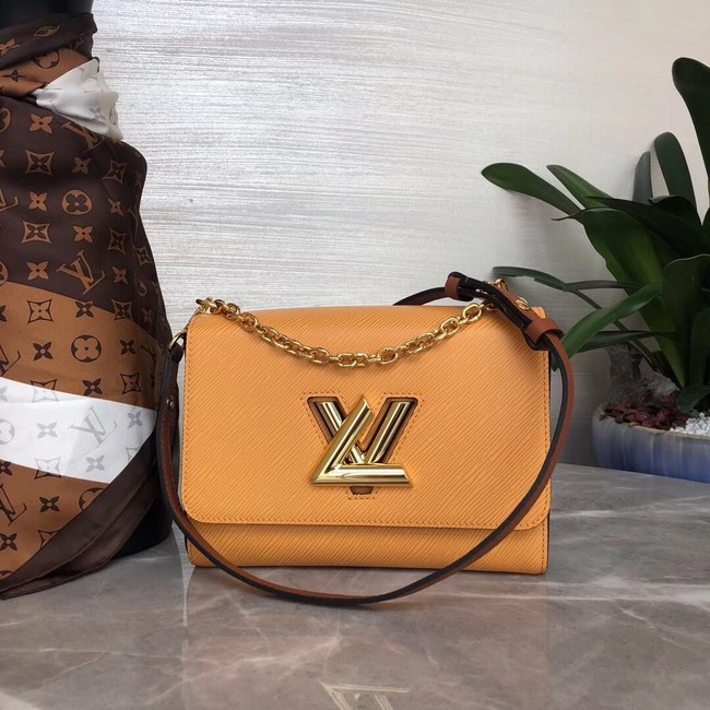 Louis vuitton original TWIST MM M53597 yellow