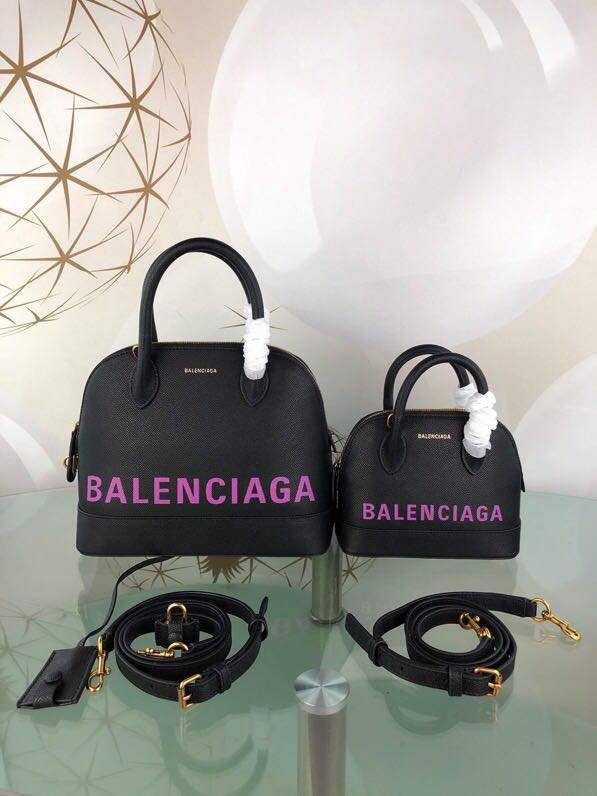 Balenciaga Shell Bag B8923 Black