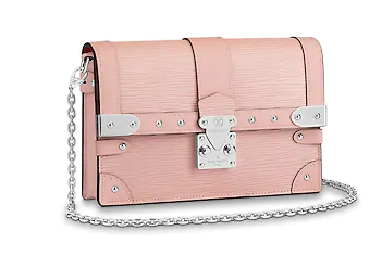 Louis Vuitton TRUNK Chain Wallet M67508 pink