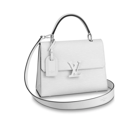 Louis vuitton original GRENELLE Small tote bag M53834 Blanc