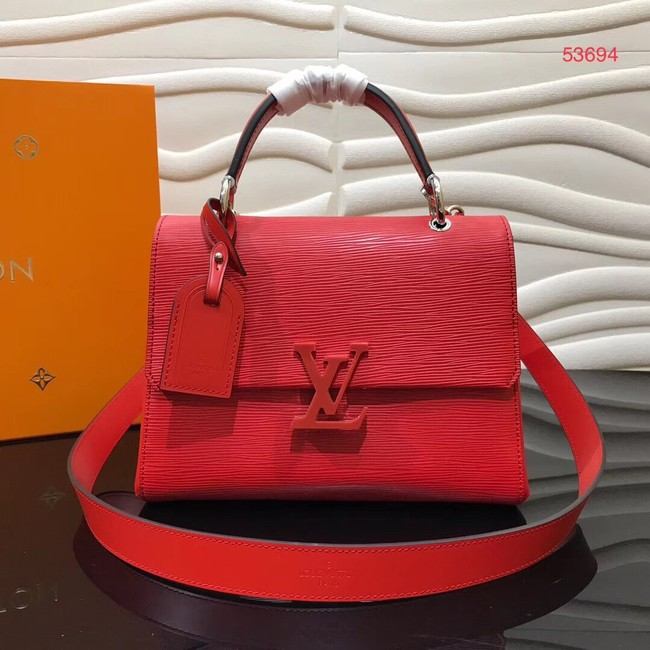 Louis vuitton original GRENELLE Small tote bag M53834 red